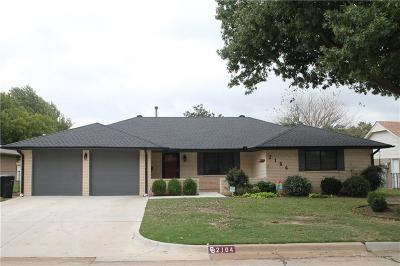 Moore OK Single Family Home For Sale: $153,500