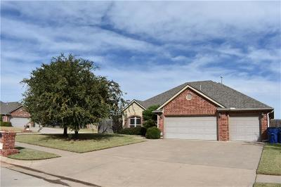 Mustang Single Family Home For Sale: 565 W Hunters Court