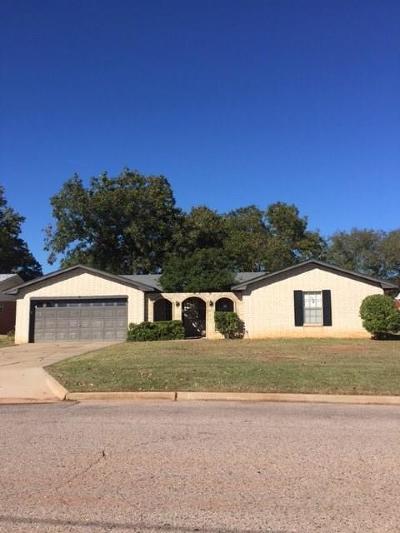 Shawnee Single Family Home For Sale: 1302 E Bradley Streets