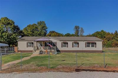 McLoud OK Single Family Home Sold: $147,200
