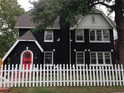 Oklahoma City Single Family Home For Sale: 1729 NW 18 Street
