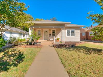 Oklahoma City Single Family Home For Sale: 2005 NW 17th Street