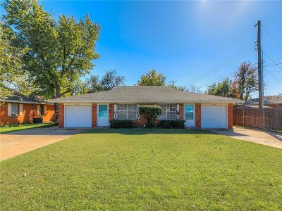 Oklahoma County Multi Family Home For Sale: 4212 NW 50th Street