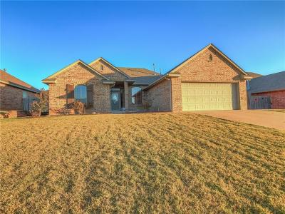 Midwest City OK Single Family Home For Sale: $185,000