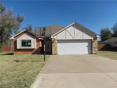 El Reno OK Single Family Home For Sale: $96,800