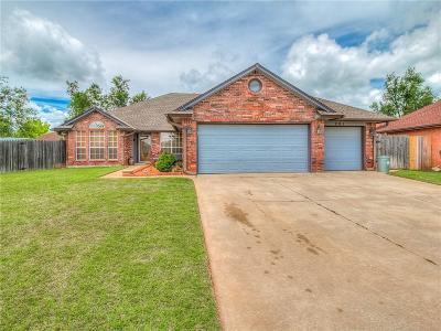 Midwest City OK Single Family Home For Sale: $198,900