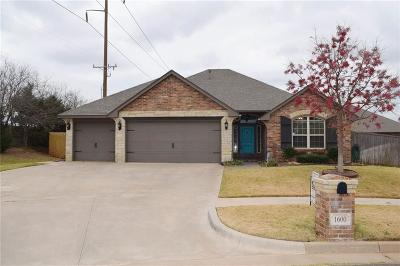 Edmond Single Family Home For Sale: 1600 NW 158th Circle