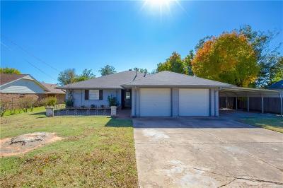 Del City Single Family Home For Sale: 4408 SE 35th