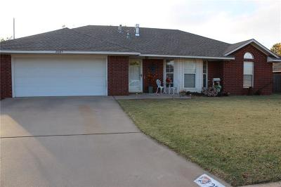 Elk City Single Family Home For Sale: 2047 W 7th Place