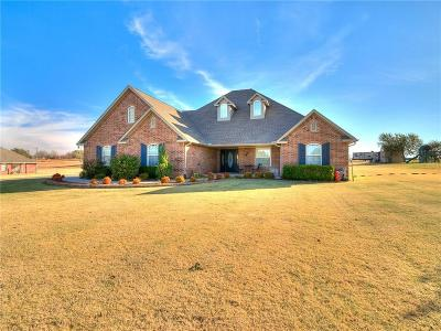 Tuttle Single Family Home For Sale: 6 Willow Creek