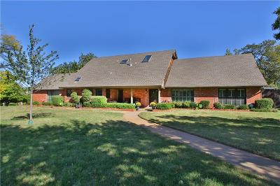 Oklahoma City Single Family Home For Sale: 3240 Hickory Stick Road