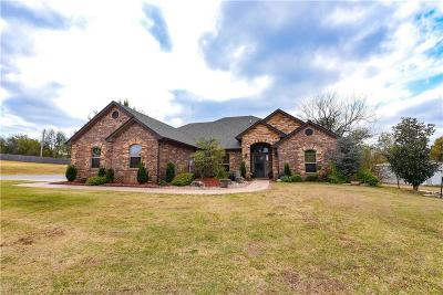 Blanchard Single Family Home For Sale: 1007 Autumn Way