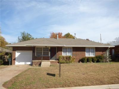 Midwest City OK Single Family Home For Sale: $83,500