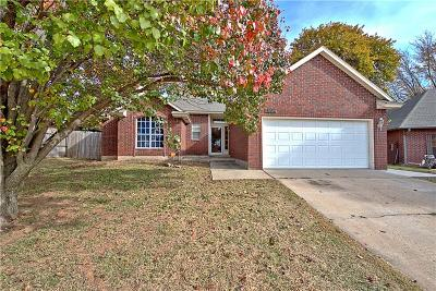 Midwest City OK Single Family Home For Sale: $127,900