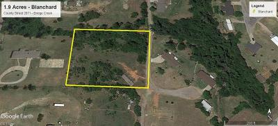 Blanchard Residential Lots & Land For Sale: County Street 2971