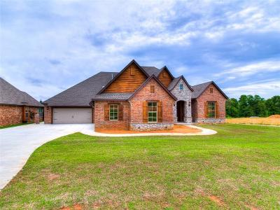 Choctaw OK Single Family Home For Sale: $454,500