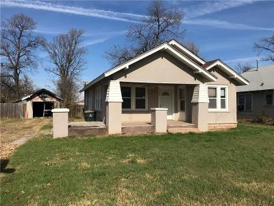 Chickasha OK Single Family Home For Sale: $42,000