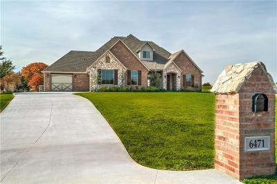 Edmond Single Family Home For Sale: 6471 Stone Hill Drive