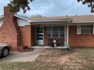 Chickasha OK Single Family Home For Sale: $83,900