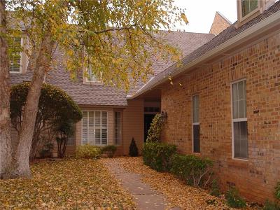 Oklahoma County Condo/Townhouse For Sale: 704 Aberdeen Road