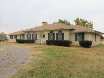 Chickasha Single Family Home For Sale: 1975 St Hwy 81