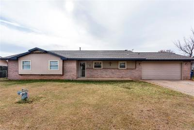 Piedmont OK Single Family Home For Sale: $134,900