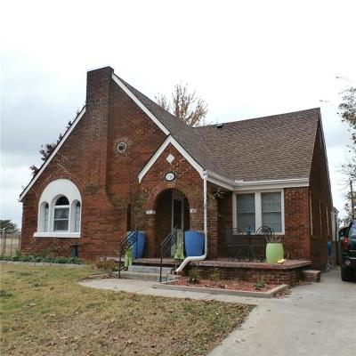 Chickasha OK Single Family Home For Sale: $74,000