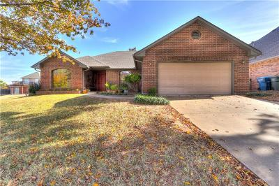 Edmond Single Family Home For Sale: 1806 Kings Crossing