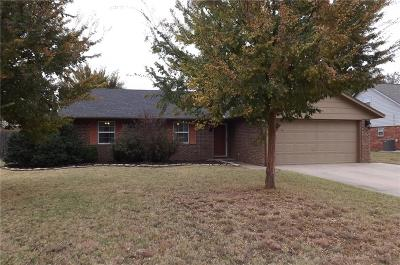 Altus Single Family Home For Sale: 3200 Partridge Place