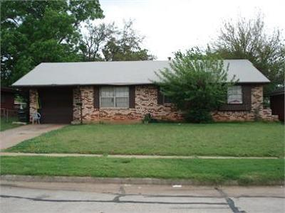 Del City Single Family Home For Sale: 3105 Dentwood Terrace