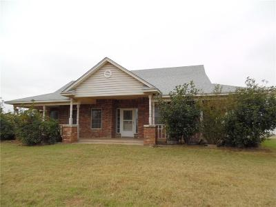 Binger OK Single Family Home For Sale: $148,000