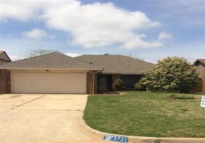 Oklahoma City Rental For Rent: 3721 Summerwind Court