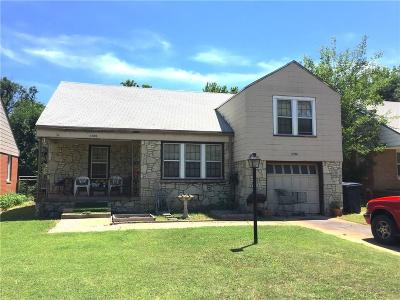 Oklahoma City Single Family Home For Sale: 1920 NW 32nd Street