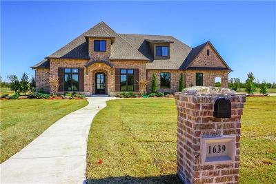Goldsby Single Family Home For Sale: 1639 Walnut Way