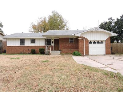 Norman Single Family Home For Sale: 1406 Kansas
