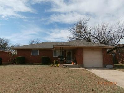Moore OK Single Family Home For Sale: $98,500