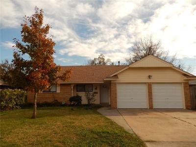Oklahoma City Single Family Home For Sale: 2624 SW 63rd Place