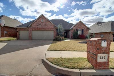 Edmond Single Family Home For Sale: 1724 Apache Trail