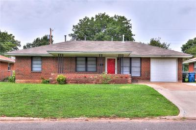Midwest City Single Family Home For Sale: 2409 N Key Boulevard