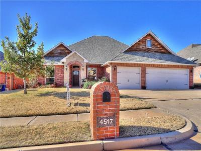 Edmond Single Family Home For Sale: 4517 Spectacular Bid