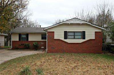 Midwest City Single Family Home For Sale: 1929 Rulane Drive