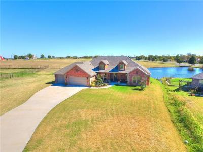 Oklahoma City Single Family Home For Sale: 6032 SE 148th Street