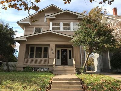 Oklahoma City Single Family Home For Sale: 1605 N Classen