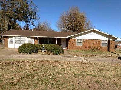 Chickasha OK Single Family Home For Sale: $120,000