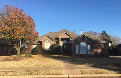 Edmond Single Family Home For Sale: 1104 Kingston Boulevard