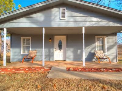 Blanchard OK Single Family Home For Sale: $99,500