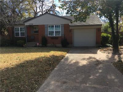 Oklahoma City Single Family Home For Sale: 3506 Garden Place