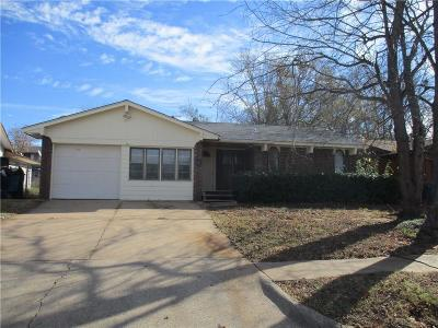 Oklahoma City OK Single Family Home For Sale: $69,900