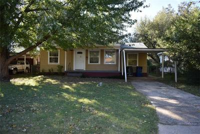 Chickasha Single Family Home For Sale: 1804 S 20th