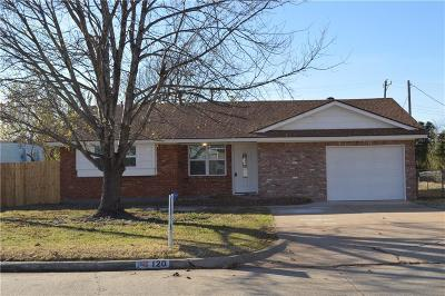 Yukon OK Single Family Home For Sale: $135,000